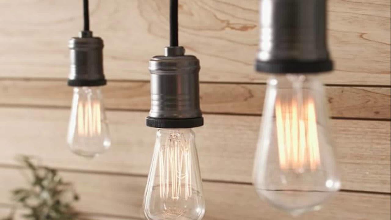 Pendant Light Adapter For Track Lighting - YouTube