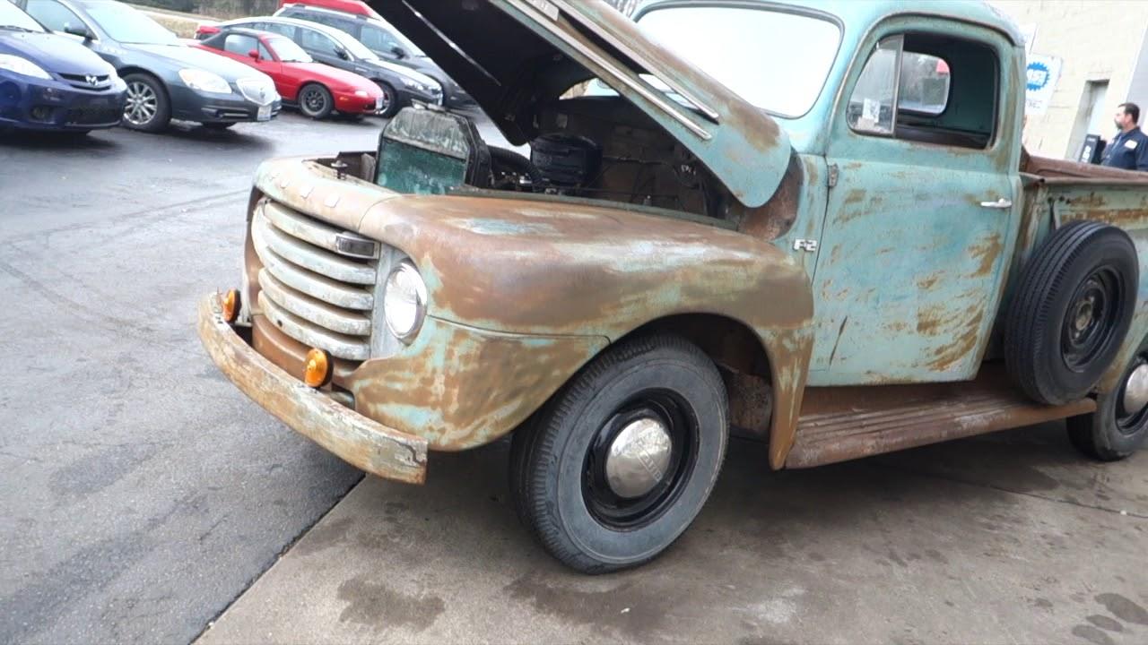1948 Ford Pickup - F2 - Original Patina Paint  V8