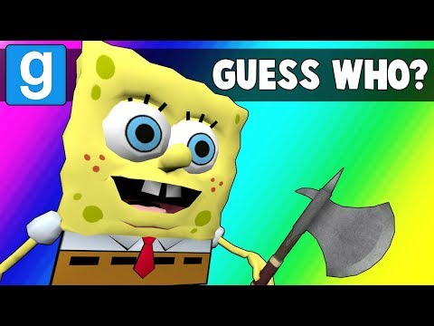 Gmod Guess Who Funny Moments - Krusty Krab is Unstable (Garry's Mod)