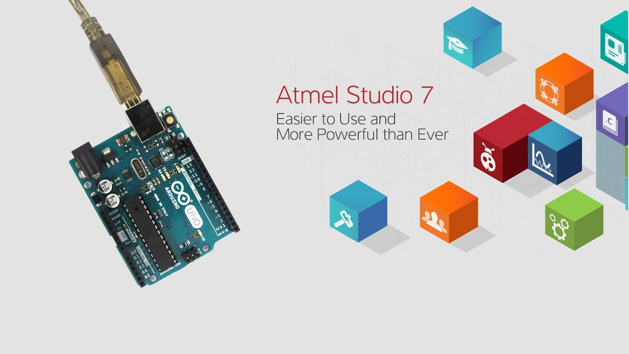 Atmel studio programming the arduino uno via bo