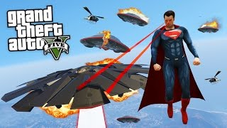 Video NEW SUPERMAN MOD!! (GTA 5 Mods) download MP3, 3GP, MP4, WEBM, AVI, FLV Agustus 2018