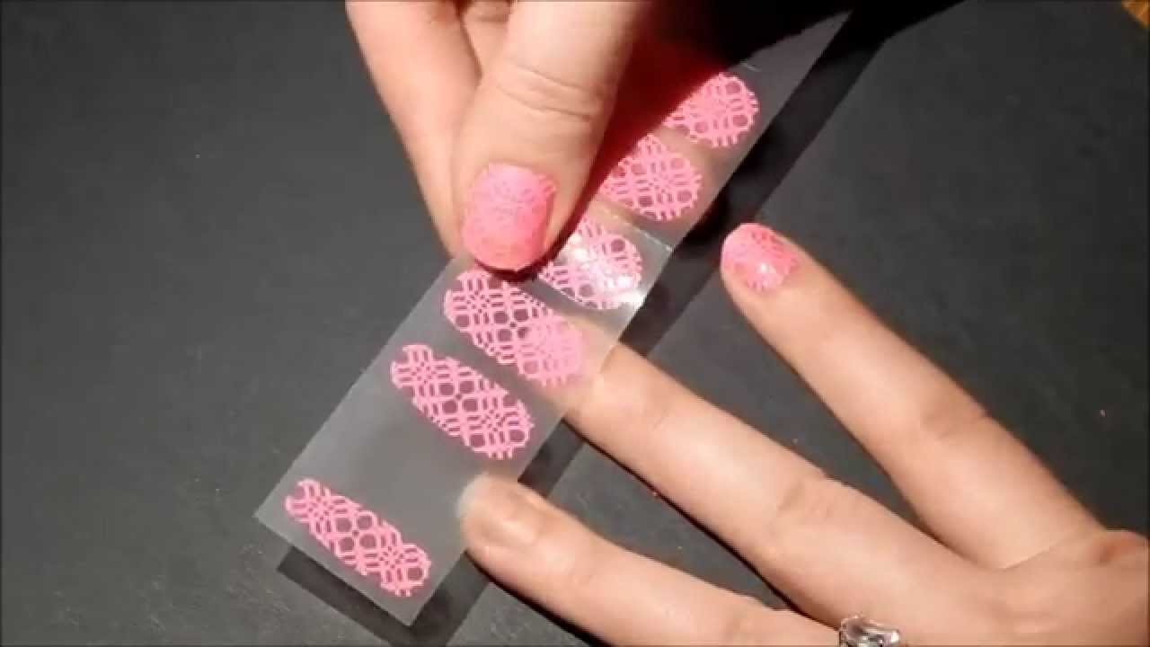 Sally Hansen Nail Wrap Tutorial and Review - YouTube