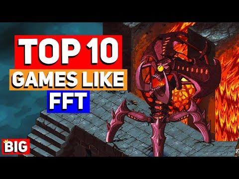 Top 10 Games Like Final Fantasy Tactics