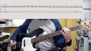 Albert Hammond Jr. - Caught By My Shadow (Bass Cover) (Play Along Tab)
