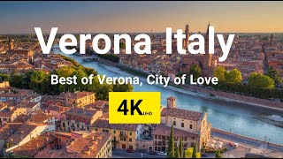 Verona 4k, the capital city of veneto region in italy is one best places with preserved medieval old towns along adige river. ...