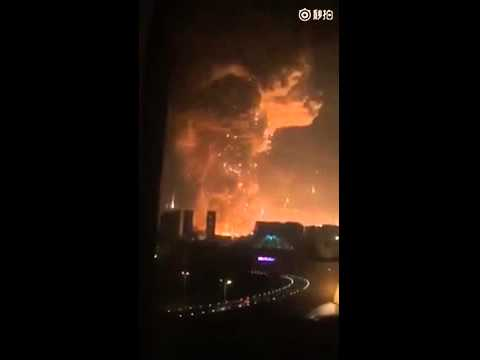 Massive Explosion in Tianjin, China - Cause Unknown - 天津爆発