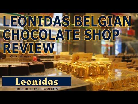 Leonidas Belgian Chocolate Shop Review!
