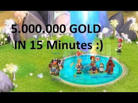 Nostale - 5milion Gold In 15minutes