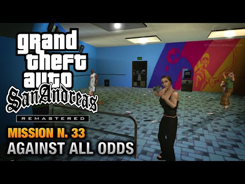 GTA San Andreas Remastered - Mission #33 - Gone Courting / Against All Odds (Xbox 360 / PS3)