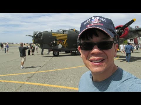 30,000 Subscriber's Special. Fly Inside a Real B24 Bomber From World War Two