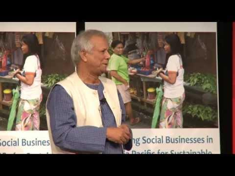 Professor Yunus Presentation for Grameen Australia - Oct14