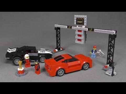 Recenzja Lego Speed Champions Zestaw 75874 Chevrolet Camaro Drag