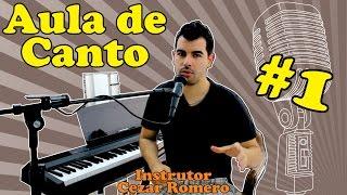 Baixar Aula de CANTO 01 - Vamos começar a cantar (com Cezar Romero)