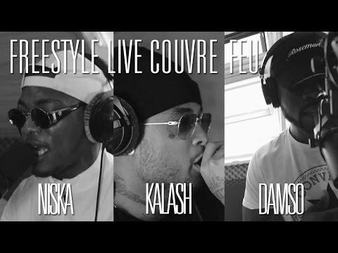 KALASH, NISKA & DAMSO - Freestyle dans Couvre Feu (OKLM Radio)