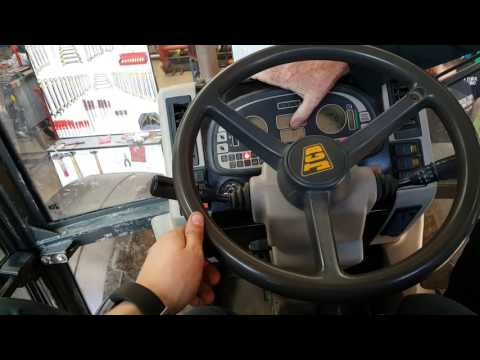 How to operate a JCB fastrac 2115 and diagnose trouble codes
