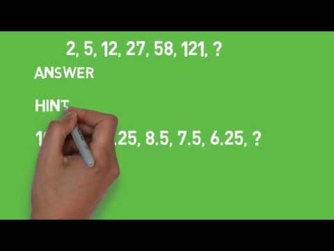 Numerical Sequence  IQ Part 2