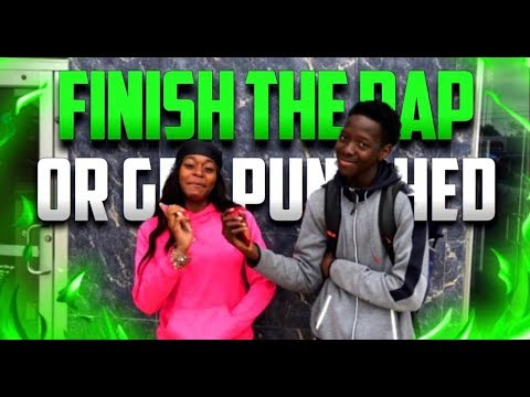 FINISH THE RAP OR GET PUNISHED | HIGHSCHOOL EDITION | PUBLIC INTERVIEW