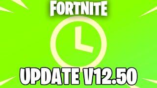 FORTNITE UPDATE V12.50 Countdown + Gameplay (FORTNITE NEW UPDATE)