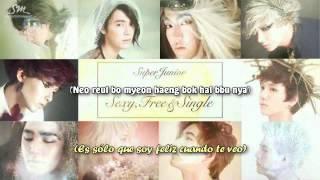 Super Junior - A `Good`bye (헤어지는 날) Sub español + Rom. lyrics