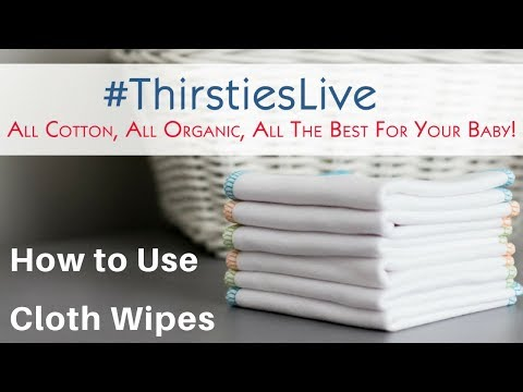 How to Use Cloth Wipes