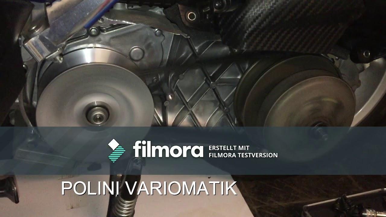 Variomatik Polini MAXI HI-SPEED Yamaha X-Max 125...