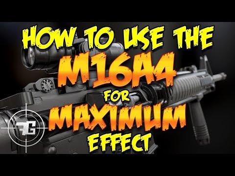 PLAYERUNKNOWN'S BATTLEGROUNDS M16A4 PRO GUIDE - PUBG M16A4 PRO GUIDE