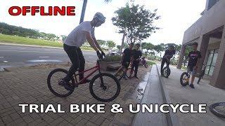 Offline Cuối Tuần Giữa Trial Bike & Unicycle Việt Nam   Vlog #85