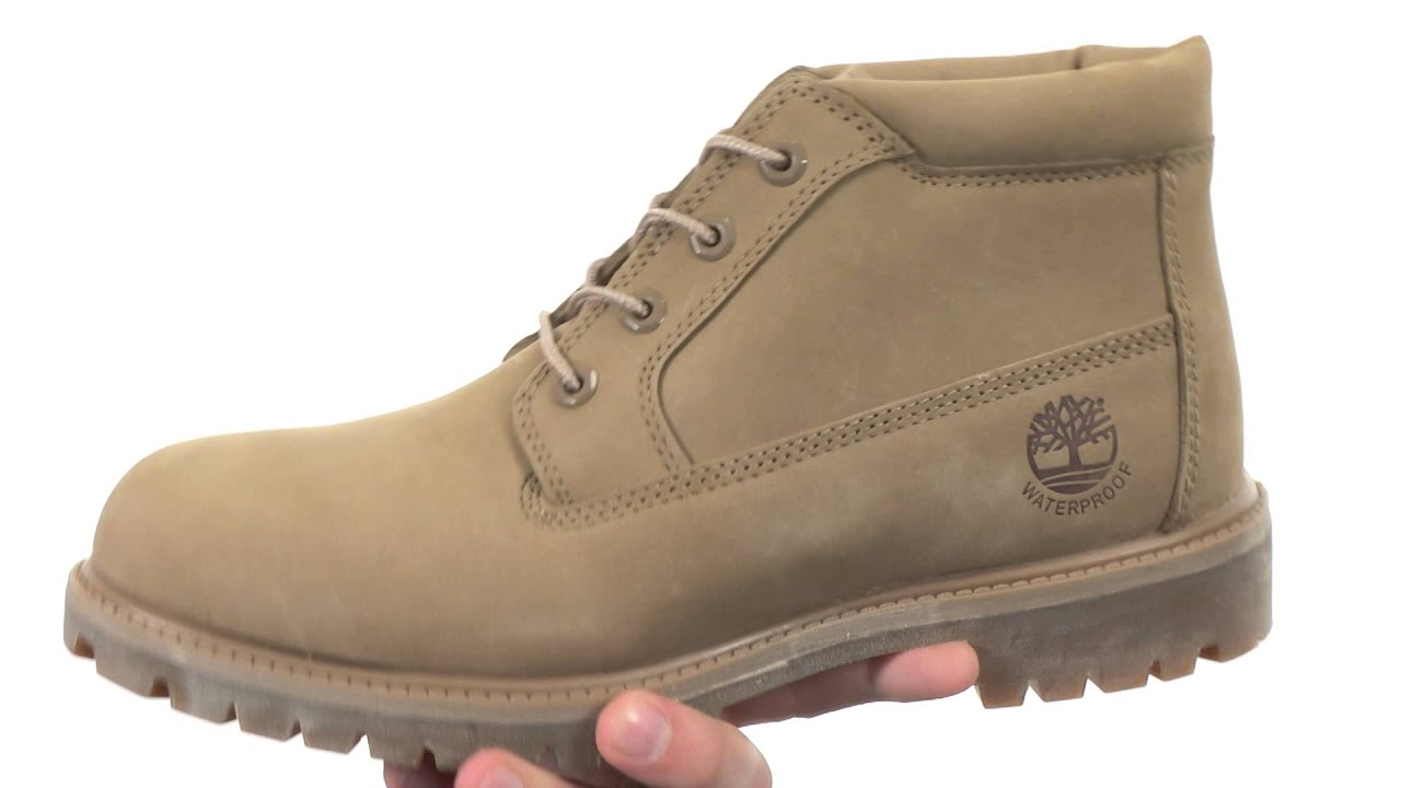 483ed549e1f4 Timberland Premium Waterproof Chukka SKU 8706566 - YouTube