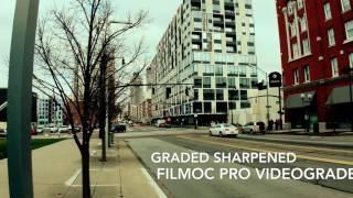 VIDEOGRADE app Filmic Pro Video grade colorgrading app Bus Stop