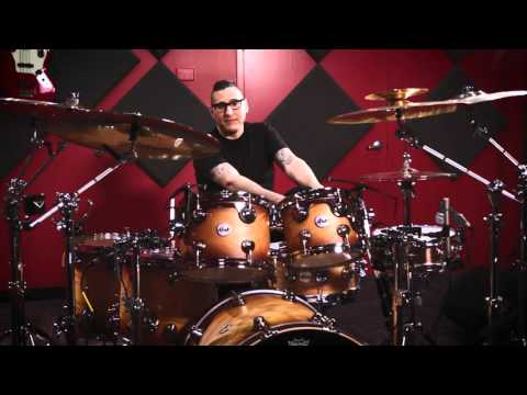 Gil Sharone on DW Drums Collector's Series Shell Pack