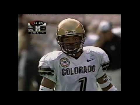 1998 Aloha Bowl - Colorado vs  #21 Oregon