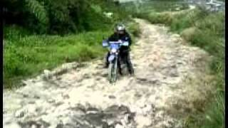 Travel to Tinoc Ifugao with motorcycle