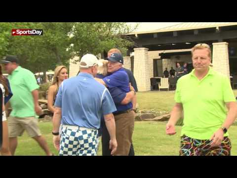 Raw video: The sights and sounds of the Cowboys Golf Classic