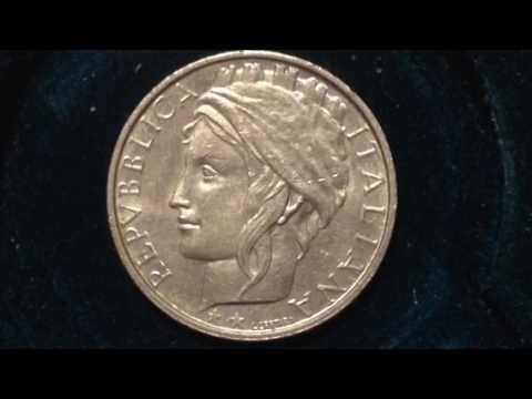 Italian Republic 100 Lire Coin dated 1993