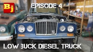 Make Your Own Oil Pan - Low Buck Diesel Truck - Episode 4