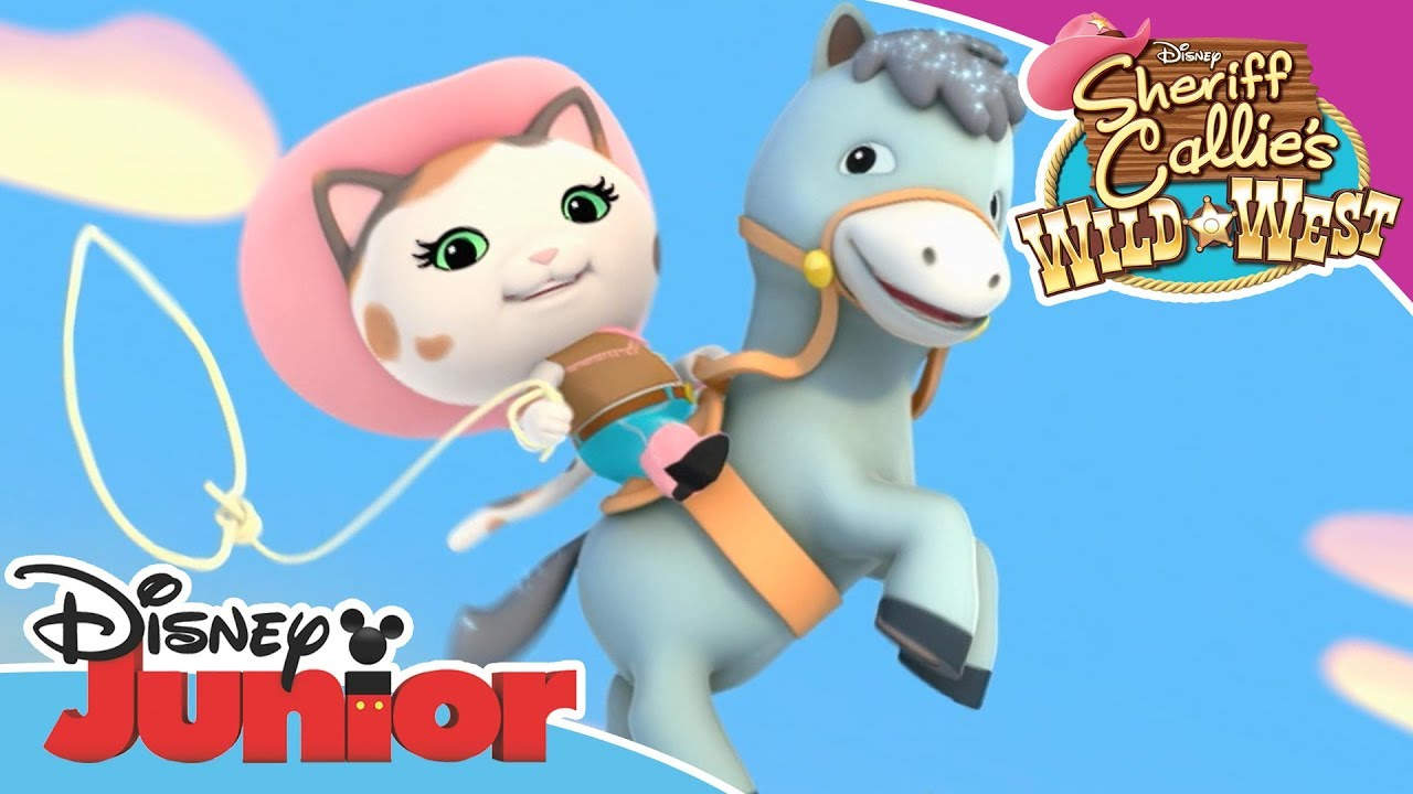 Get Moving With Sheriff Callie S Wild West Disney