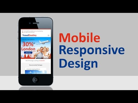 Mobile Responsive Design | Photoshop Tutorial