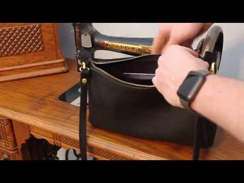 Kw Buffalo Leather Purse Made In Usa Billfold Company