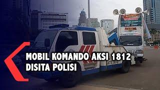 Alasan Polisi Sita Mobil Komando FPI Aksi 1812