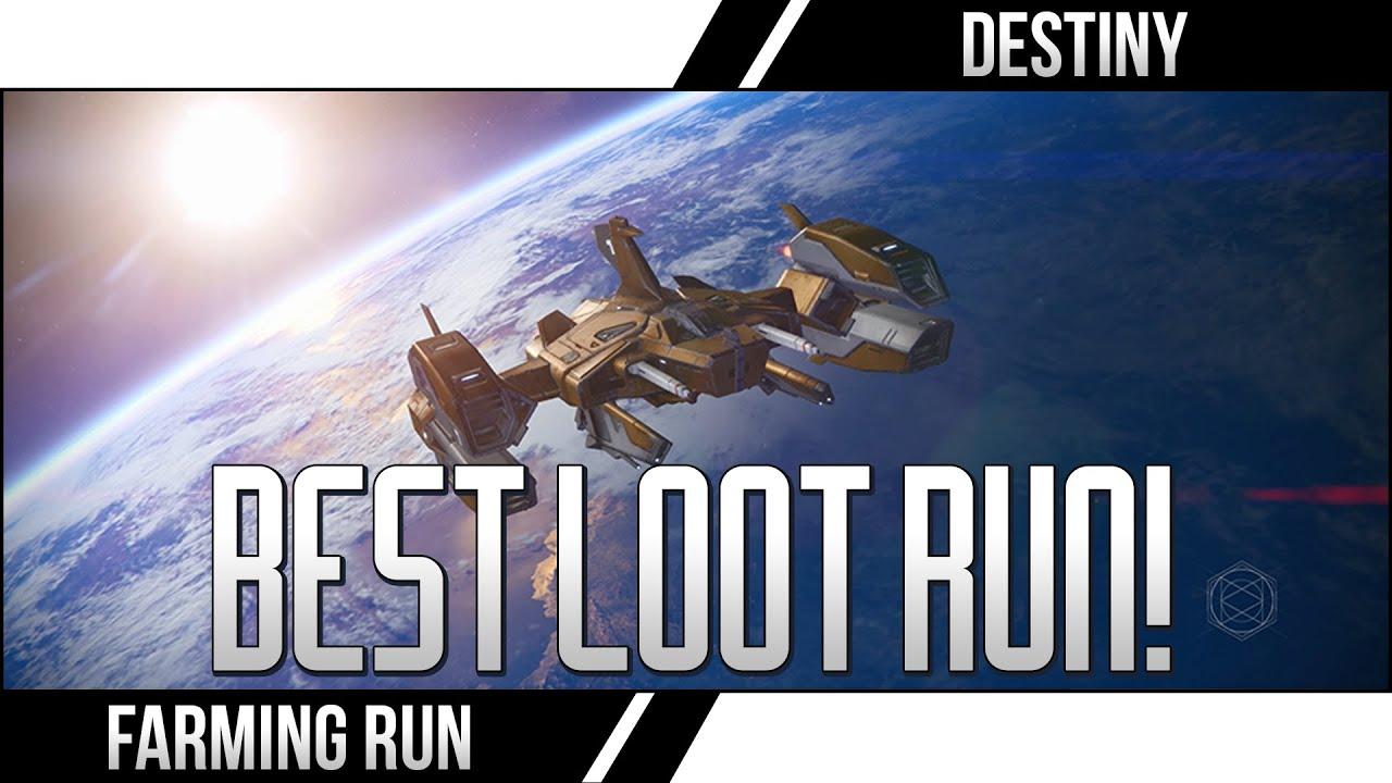 Destiny earth chest run destiny loot farming legendary ship