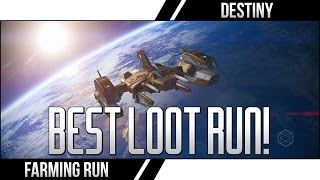 DESTINY EARTH CHEST RUN! (Destiny Loot Farming Legendary Ship Blueprints Spinmetal Run)