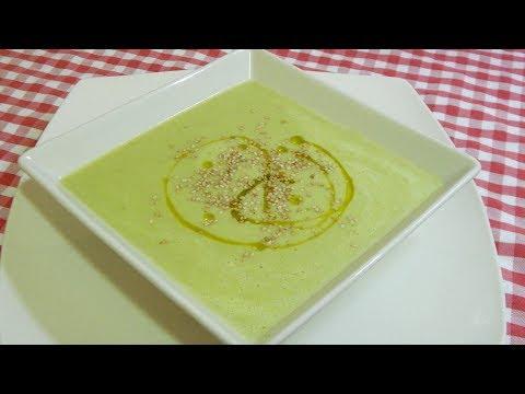 Cómo hacer una crema de judías verdes con quesitos muy fácil y muy sabrosa