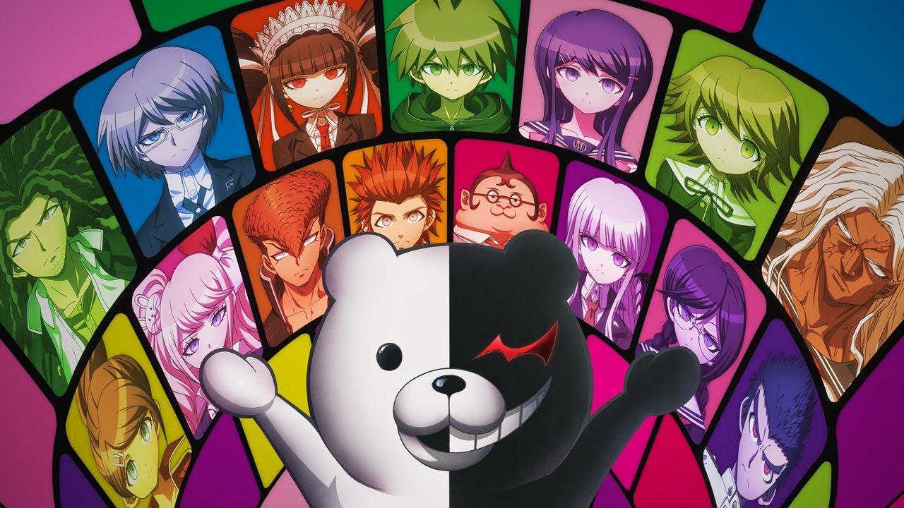 Kết quả hình ảnh cho Danganronpa: the Animation anime