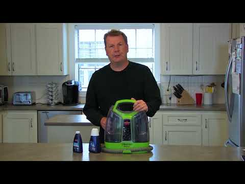 Bissell Little Green ProHeat® Pet Portable Carpet & Upholstery Cleaner - Todd's Testimonial