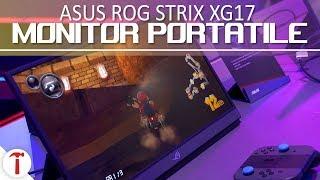 Asus ROG Strix XG17, il monitor portatile da 240 Hz
