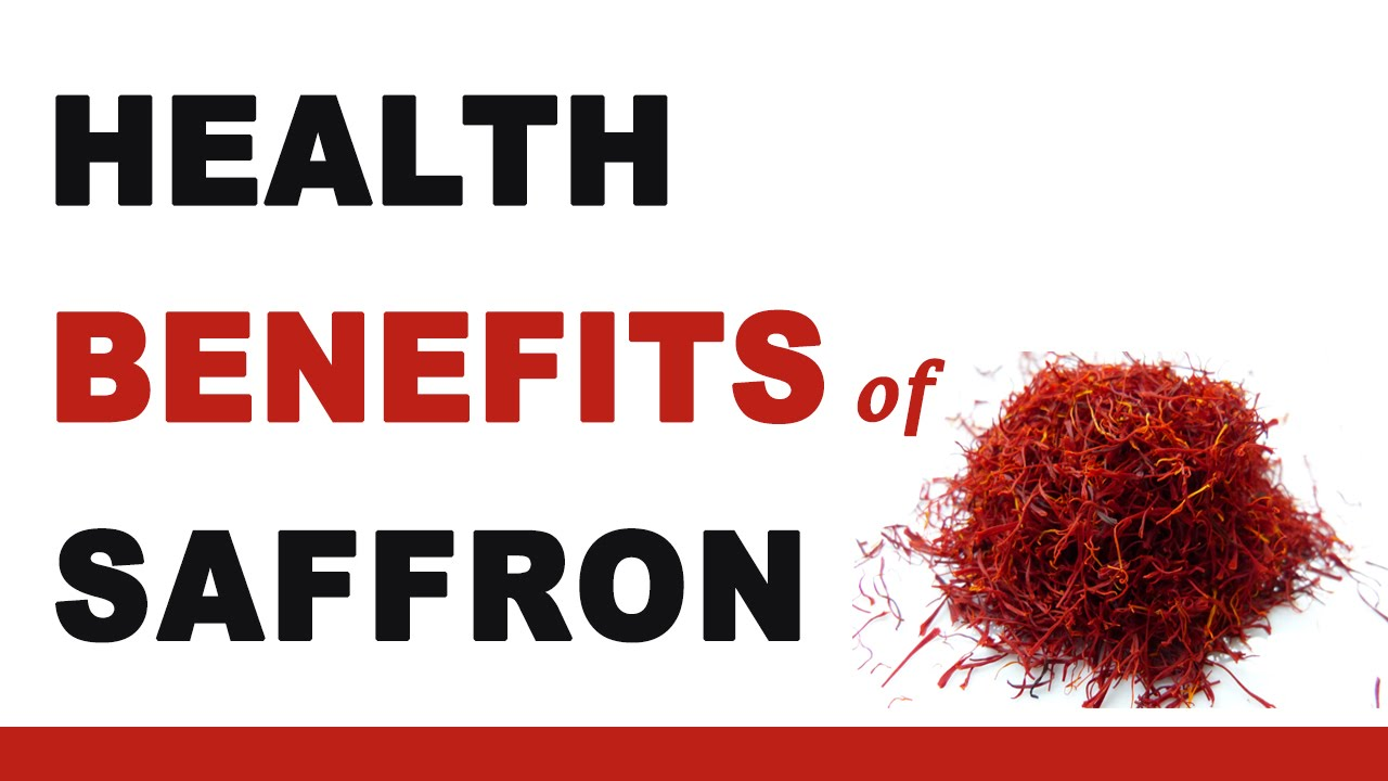 saffron facts, health benefits and nutritional value
