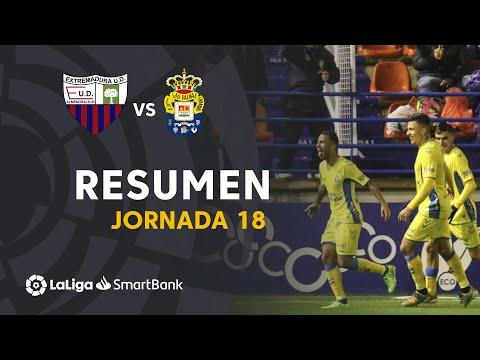 Resumen de Extremadura UD vs UD Las Palmas (0-1)