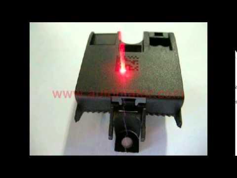 Automator Laser Marking Plastic Automotive Parts Youtube