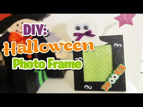 Picture green photo frames halloween