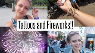 VLOG: Getting a Tattoo + More Fireworks!!